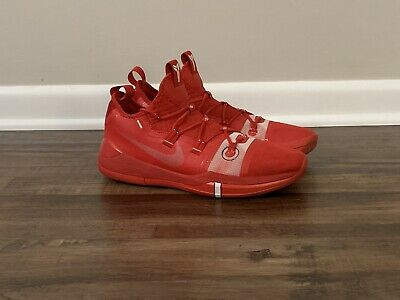 Nike Kobe Ad Tb Promo Exodus Red Basketball Shoes Mens Size 11 Pre Own 120 00 Picclick