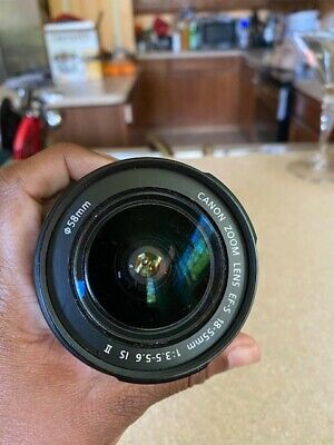 Canon EF-S 18-55mm f/4-5.6 IS STM Lens - USED GOOD CONDITION