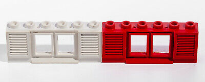 Lego red old classic window with shutters ref 646 set 011 355 914 349 350