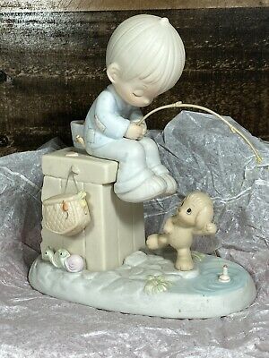 Precious Moments Just A Line To Wish You A Happy Day figurine