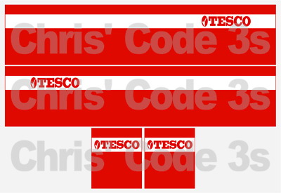 1//50 1//76 1//148 NHS Blood Donation Code 3 Adhesive Vinyl Trailer Decal