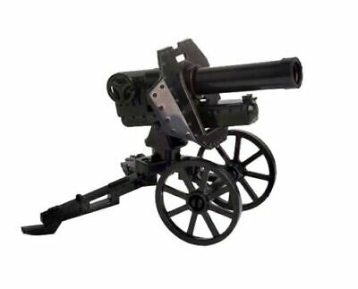 Wheeled WW2 Russian Maxim machine gun M1910 compatible w// Lego minifig UK stock