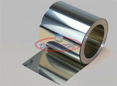 1pcs Stainless Steel SUS430 Thin Plate Sheet Foil 0.07mm x 100mm x 1000mm # GY