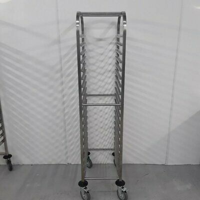 Commercial Gastro Trolley Single Rack Shelves Stand Vogue