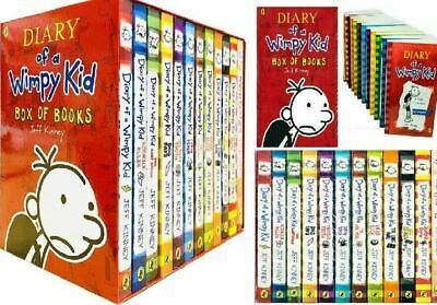 Diary of a Wimpy Kid Classic Reading Collection by Jeff Kinney- 12 Books Box Set