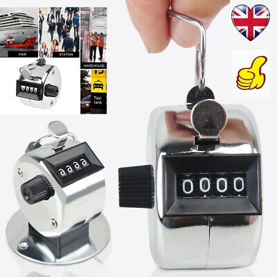 research.unir.net 4 Digit Number Manual Mini Tally Counter ...
