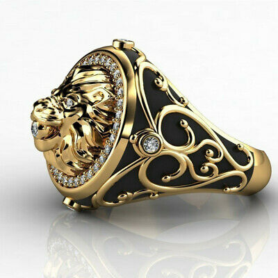 Details about  /Fashion Frog 18k Yellow Gold Plated Rings Women Jewelry White Pearl