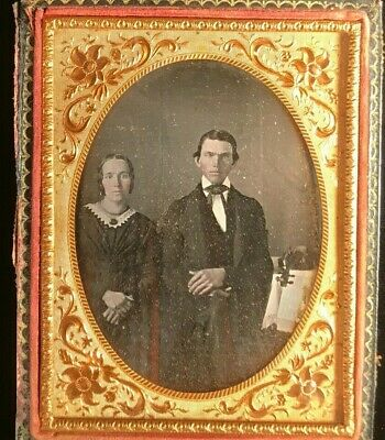1850s Daguerreotype Image of a Stone Cutter Historic Photo Print