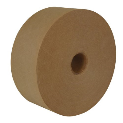 IPG Medallion Reinforced Water Activated WAT Tape, 70mm x 137m, Natural, 10-Pack