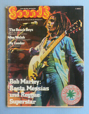 SOUNDS Nr. 80 ::: Oktober 1975 / Bob Marley, Beach Boys, Joe Walsh, Ry Cooder
