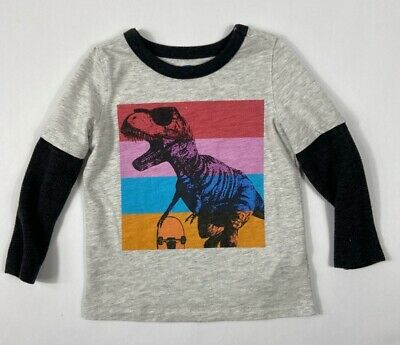 NWT Old Navy Toddler Girls Green White Raglan Tee OUR FUTURE IS NOW Graphic
