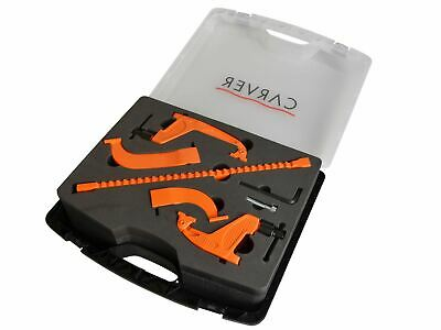 Carver Multiclamp 3-in-1 Clamp with Carry Case