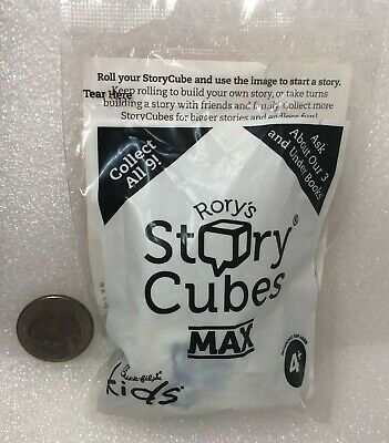 Chick-fil-A Kids Meal Toy RORY/'S STORY CUBES MAX 2018 NIP