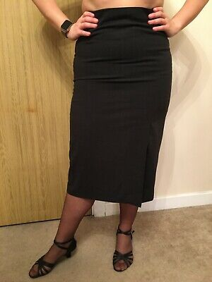 Elizabeth Ascot 100 Wool Elegant Brown Green Pencil Skirt It42 Uk10 Us8 F40 D38 Eur 28 12 Picclick It
