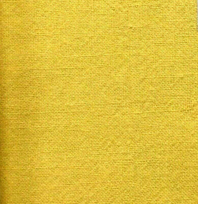 """Vintage Flour Sack Solid Color Lovely Golden Yellow approx 38/"""" x 35/"""""""
