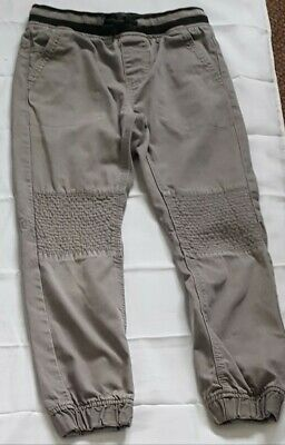 Pep&Co Boys Grey Jeans pull on Joggers,Pants 100%Cotton ,Size 6-7Y, H 128-134cm