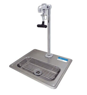 """BK Resources 12-11/16""""W Stainless Steel Glass Filler Water Station Sink"""