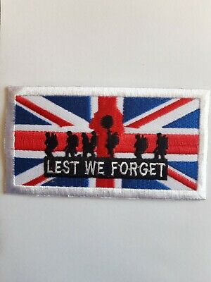 Lest We Forget British Army Polyester Flag Choice of Sizes