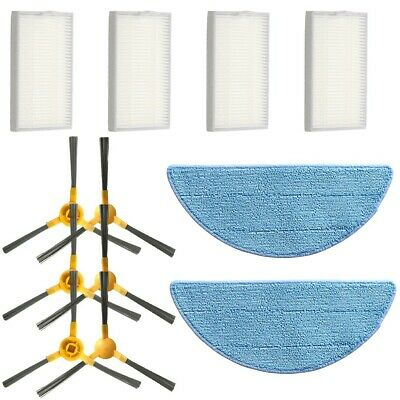Filters Mop Cloths Side Brushes For Alfawise V8s Pro E30b Robotic Vacuum Cleaner