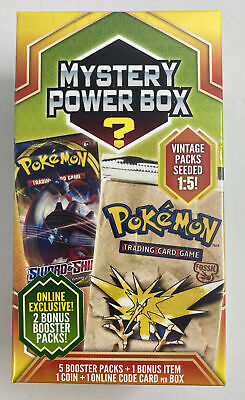 Pokemon Mystery Power Box Neo Discovery 1//5 Vintage Packs Possible Sealed