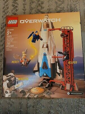 LEGO OVERWATCH GIBRALTAR 75975 730 PIECES BRAND NEW SEALED IN BOX!