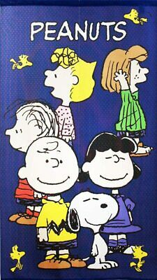 PEANUTS Snoopy Noren Divider Curtain Tapestry Japanese Pattern Origami Crane