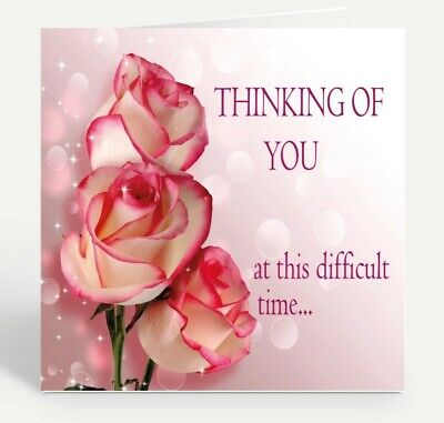 """/""""Wishing You Heartfelt Comfort During this Difficult Time/"""" AVANTI SYMPATHY CARD"""
