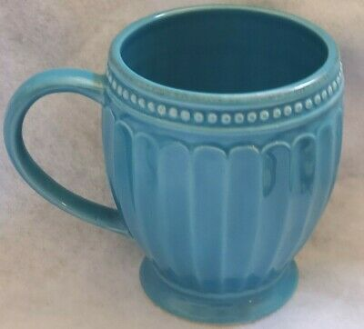NEW Lenox French Perle Peacock Blue 16 PC Dinner Accent Plate Mug /& SERVING BOWL