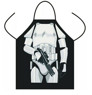 NOVELTY Funny  BBQ Man Kitchen Cooking Chef  Funny Bbq Party Apron Star Wars UK