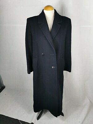 Austin Reed Overcoat Size 44r Men S Navy 29 99 Picclick Uk