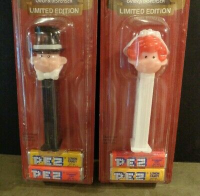 PEZ Groom and Groom Twin Pack Ships From San Francisco
