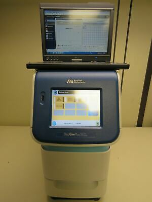 2011 ABI StepOnePlus Real Time PCR System with Step One Plus Control Laptop