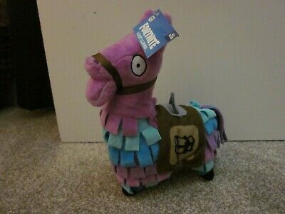 """NEW Fortnite Loot Llama Officially Licensed 8"""" Fabric Plush Toy NWT Epic Games"""