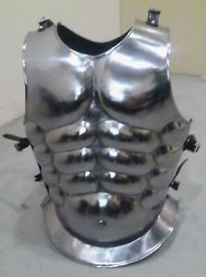 Medieval Muscle Body Armour Curiass Chest Plate Armor Iron Steel Breastplate ax1
