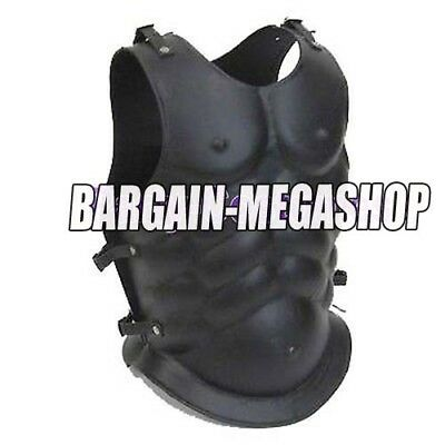 Roman Greek Muscle Body Armour Curiass Chest Plate Armor Iron Steel Breastplate