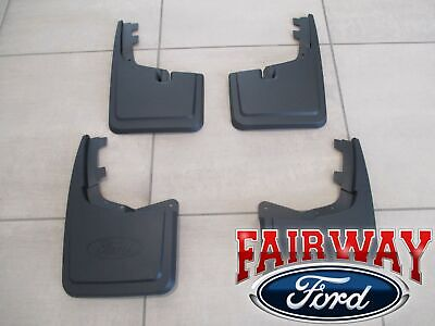 NEW OEM 2004-2013 FORD F150 SPLASH GUARDS MUD FLAPS SET OF 4 GENUINE FORD ACCESS