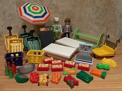 Playmobil Assorted food items jars for House supermarket Shop Cafe Kitchen NEW