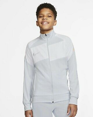 Nike Youth Academy Pro Football Jacket (White) - Age 10-11 - New ~ CD1200 100