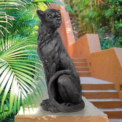 Panther The Black Leopard of the Wild Sculpture