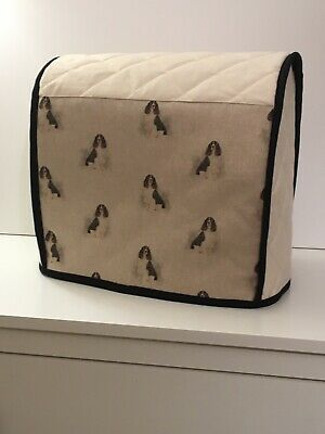 Hand Crafted Daxi Dachshund Quilted Calico Mixer Cover Kitchenaid 4 8l 24 99 Picclick Uk