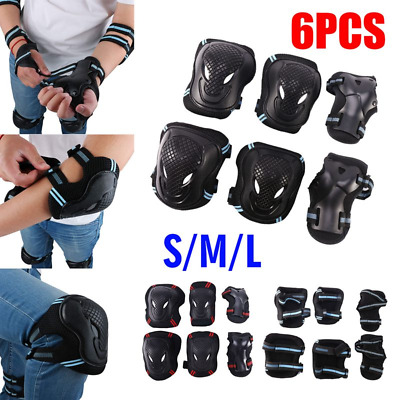 """PRO-TEC /""""Street/"""" Elbow Pads RETRO Roller Derby Skateboard S M L XL Protection"""