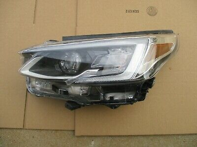 2020 2021  Subaru Legacy Outback Driver Lh Left Side Led Headlight Head Lamp Oem
