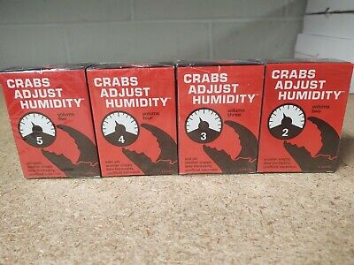 Crabs Adjust Humidity-Vol four; Parody Expansion Cards Against Humanity NEW!