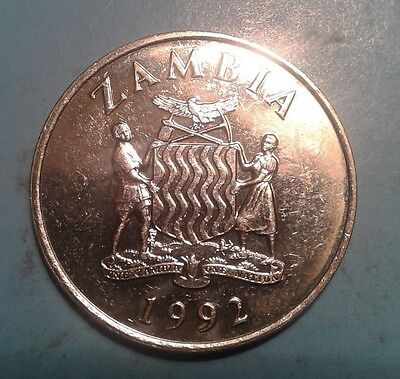 Zambia 50 Ngwee coin 1992