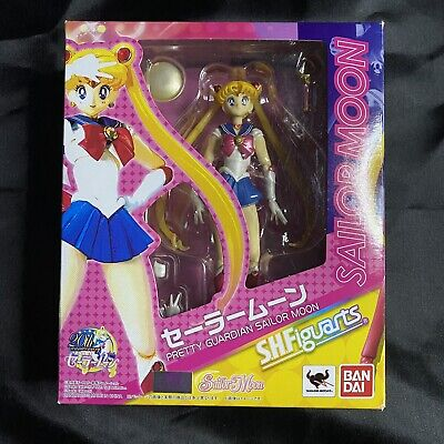 S.H.Figuarts Pretty Guardian Sailor Moon Action Figure 14cm Bandai Unopened New