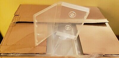 100 CLEAR VHS VIDEO LIBARY CASE Made in USA vvc881t Alpha AT1CLR