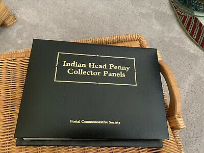 Postal Commemorative Society Indian Head Penny Collector Panels 1879-1909