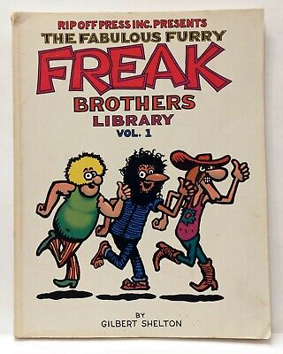 THE FABULOUS FURRY FREAK BROTHERS COMIC #6 MINT CONDITION FAT FREDDY CAT