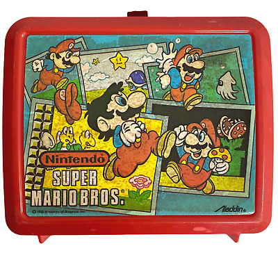 Super Mario Brothers Retro Video Game Insulated Lunchbox