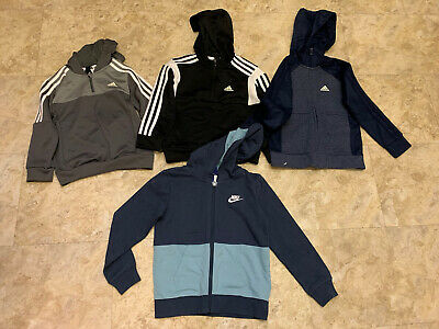 Adidas Nike Boys Bundle Tops Hoodies 6-7 Years 4 Items Reduced To Clear